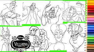 There are lots of colorful bows and bow ties, each of diferent kinds. Coloring Disney Villain Ursula Maleficent Evil Queen Mother Gothel Lady Tremaine More Youtube