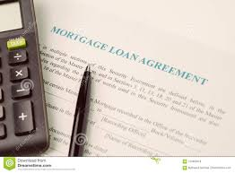 Calculate A Mortgage Loan Mortgage Loan Agreement Sign Contract Concept Pen With