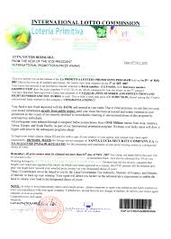 Lottery Scams Spain Spanish Fake Lotteries Won The Spanish