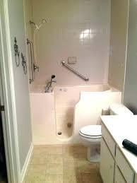 new portable bathtub for elderly glass door elderly