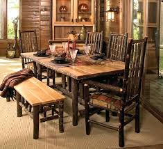 rustic dining room tables rustic dining room table with bench fresh with photos of rustic dining