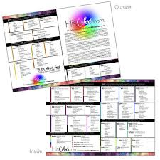Color Meanings Chart Color Meanings Chart Colour Meanings Chart Biblical Color Meanings Prophetic Color Meanings