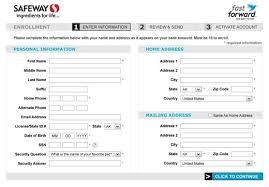 safeway job application online form safeway job application online form safeway job application