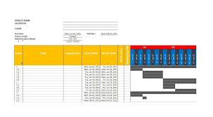 Gantt Chart Template Word Download 36 Free Gantt Chart Templates Excel Powerpoint Word