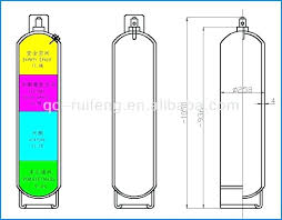 Fire Extinguisher Sizes Chart Welding Gas Tank Sizes Dbazaar Co