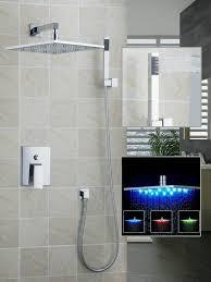 Dusche Set Torneira Led Licht 12 Duschkopf Badezimmer