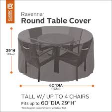 ravenna tall patio bistro table chair set cover premium outdoor furniture cover with durable