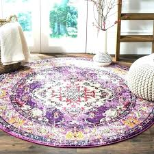 5 foot round rug ft fantastic violet fuchsia x area bath runner