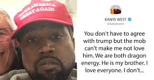 Image result for kanye i love trump tweet