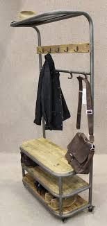 Industrial Coat Rack Bench Coat Racks Amusing Coat Rack Shoe Rack Coatrackshoeracknarrow 7