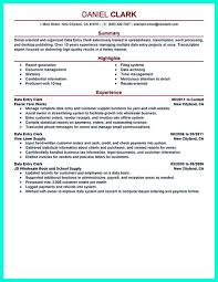 Data Entry Clerk Job Description Resume Your data entry resume is the essential marketing key to get the 33