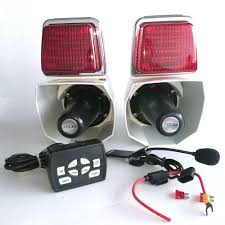 Red And Blue Police Motorcycle Strobe Lights Back Pole Lights View Police Motorcycle Strobe Lights Product Details From Focan Electronic Factory