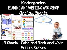 Writer S Workshop Anchor Charts Reading And Writing Workshop Anchor Charts Kindergarten