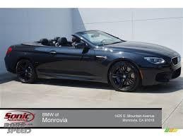 All BMW Models black on black bmw m6 : 2015 BMW M6 Convertible in Black Sapphire Metallic - 651271 ...