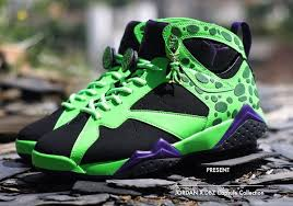 Jordan, ronda rousey and jackie chan are fans of dragon ball z? Air Jordan X Dbz Freezer Cell Majin Buu Sneakers Actus Air Jordans Popular Sneakers Shoes Sneakers Jordans