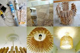 diy homemade chandelier
