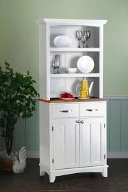 fabulous narrow kitchen hutch also buffet magnolia home antique with narrow kitchen hutch