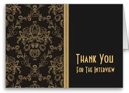 Interview Thank You Card Sample Thank You Card How To Samples