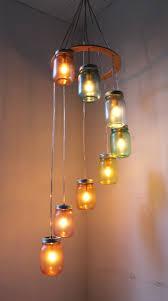 lighting canning jar light fixtures chandelier to make diy fixture ball stunning custom cottage mason