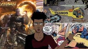 AniVlog #2 Thanos' Helicopter Comic ...