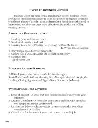 How To Type Business Letter Format – Globalhood.org