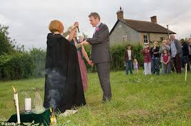 wiccan wedding. Law change could lead to Jedi and Pagan weddings Tories fear