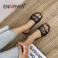<b>ENMAYER</b> 2019 <b>New Arrival</b> Women PU Zapatos Mujer Shoes ...