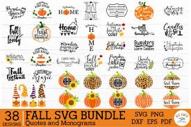 Halloween pumpkin zentangle svg cuttable cricut design   etsy. Fall Autumn Quotes And Monogram Frames Graphic By Redearth And Gumtrees Creative Fabrica