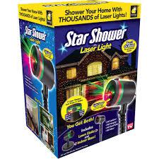 As Seen On TV Outdoor Light Decoration Star Shower Laser Light Show ...