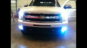 HIDs H11 LOWs AND 5202 FOGs INSTALLED ON 2011 CHEVY SILVERADO CAR ...