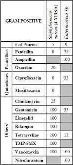 Antibiotic Chart For Nurses Methodological Challenges Associated With Developing And