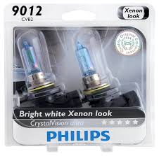 com philips 9012cvb2 crystalvision ultra upgrade headlight bulb 9012 hir2 2 pack automotive