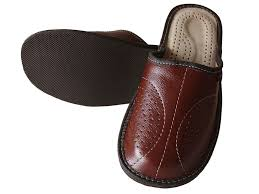 details about mens leather slippers slip on shoes size 7 8 9 10 11 12 13 uk mules