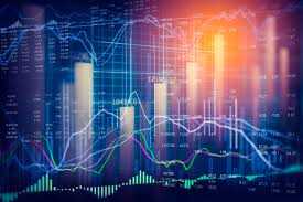 Stock Market Analysis Stock Market Indicator And Financial Data View From Led Double 4