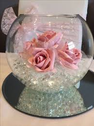 fish bowl vase decoration ideas cool sweet inspiration glass bowls for centerpieces wedding centerpiece review