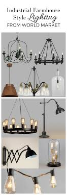 industrial farmhouse lighting. industrial farmhouse style lighting from world market on boone i