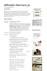 Senior Interior Designer Resume samples