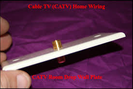 cable tv catv home wiring how to wire a home never run a catv cable parallel to an electrical cable this is often done by electricians when they wire a house cause it is easy to route various cables