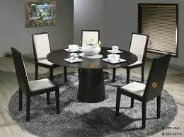 furniture good looking black round kitchen tables 19 simple dining table for 6 patio and sets