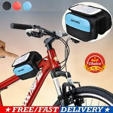 <b>Bike Handlebar Bag Bicycle</b> Front Cell Phone Holder Case <b>MTB</b> ...