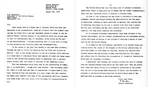 political views of albert einstein the letter to franklin delano roosevelt from einstein and leo szilatildeiexclrd urging the production of an atomic bomb