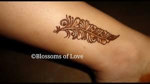 बहत पयर लग टट महद डजइन Leg Tattoo Mehndi Design For Girls