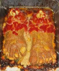 picture of feet loaf disgustingly delicious simple main dish