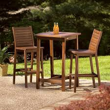 wood patio bar set. Diy Patio Bar Set. Plain Alluring Outdoor Bistro Table Set Height With Best Wood
