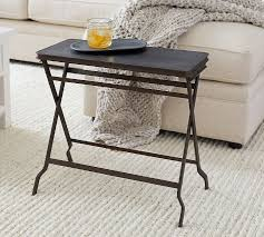 carter 23 metal folding tray table