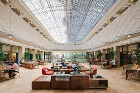 Beaux Arts Interior Design Fascinating WeWork La Fayette CoWorking Space Gives Nod To The 48s Design Milk