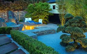 Lovely Modern Japanese Garden Design