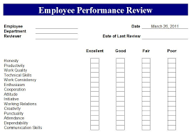 Simple Employee Review Employee Performance Report Template Performance