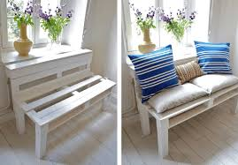 Pallet design furniture Modern Free Pallet Sofa Plan From Scraphacker The Spruce Free Plans To Help Utilize Extra Unused Pallets
