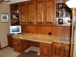 trendy custom built home office furniture. Fascinating Built In Desk Home Office Design . Trendy Custom Furniture